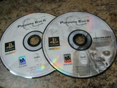 Parasite Eve II / 2 / Squaresoft RPG Sony Playstation 1 (PS1) Game