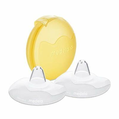 Medela, Contact Nipple Shields, 24mm Nipple Shield, 2 Count with Carrying Case