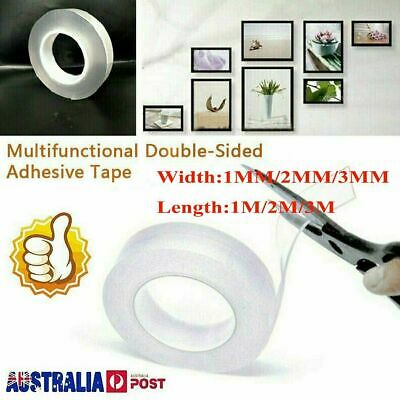 Double-sided Grip Tape Traceless Washable Adhesive Nano Invisible Gel Tapes!R