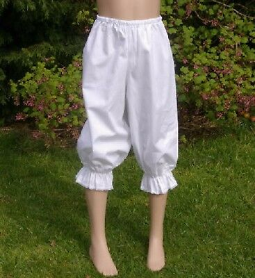 Girls Victorian / Edwardian  long BLOOMERS costume fancy dress age 12 yrs