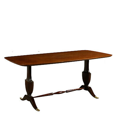 Table Placage d'Acajou Italie '900