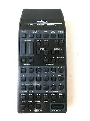 Revox B208 Remote Control Unit