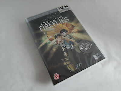 Grave of the Fireflies on DVD, Studio Ghibli, Brand New & Sealed, Free Post