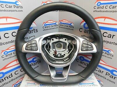 Mercedes C Class Steering Wheel leather AMG line A0004603803  27/7