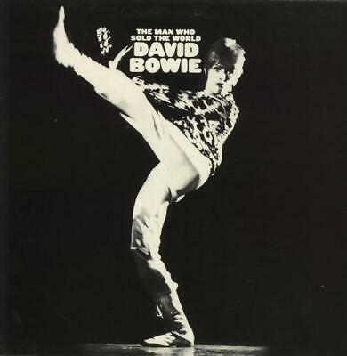 The Man Who Sold The World - 2nd + Po... David Bowie UK vinyl LP  record