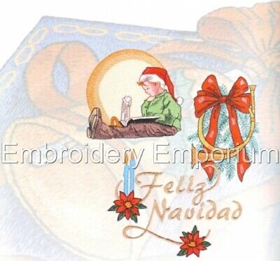 Christmas 135 Collection - Machine Embroidery Designs On Cd Or Usb