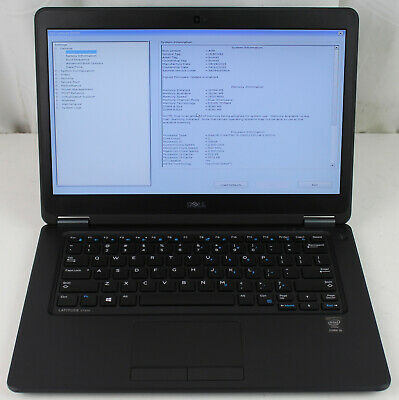 DELL LATITUDE E7450 Core i5 2 30GHz 8GB RAM INCOMPLETE
