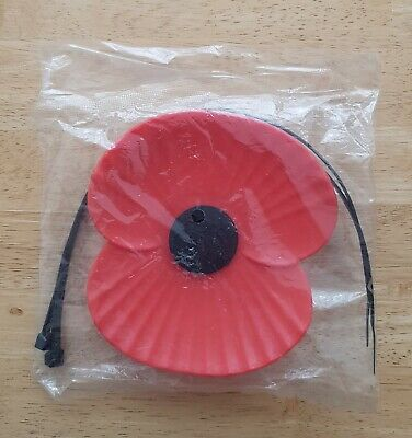 "Brand New ""ROYAL BRITISH LEGION (RBL) PLASTIC CAR POPPY"" (SAME DAY DISPATCH !!)"