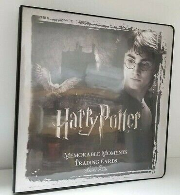 Harry Potter Memorable Moments Collectible Trading Card Binder Album