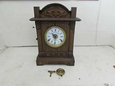 Antique Fattorini & Sons, Automatic Alarm Mantel Clock, Requires Suspension
