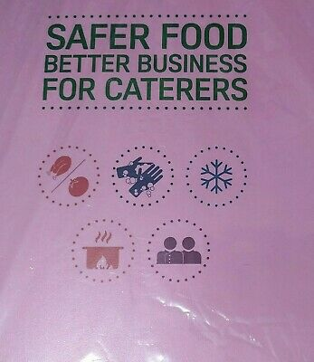 Safer Food Better Business Caterers Pack 2019 +24  Month Diary Full Pack + sign