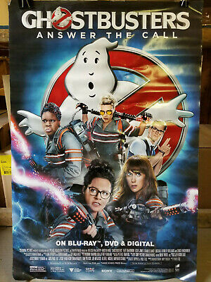 Ghostbusters Answer the Call 2016 movie poster 27 x 40 Rolled
