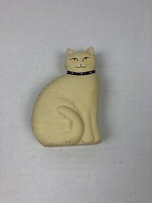 Vintage Crowning Touch Cat Trinket Box Case Japan