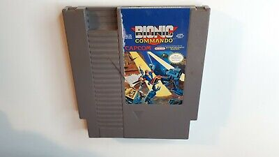 Bionic Commando Nintendo NES Video Game Cart ACCEPTABLE - FAST FREE SHIPPING!!