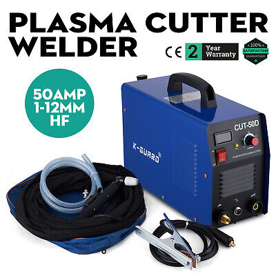 50A DC Inverter Digital Air Plasma Cutter Cutting Machine CUT-50D & Accessories