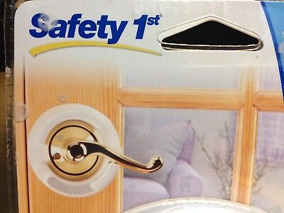 Safety 1st Lever handle Lock Door Handle baby Child Resistant NO Drilling New