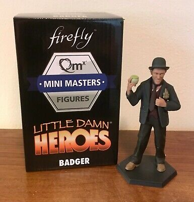 Firefly QMX Mini Masters Little Damn Heroes Badger Figure