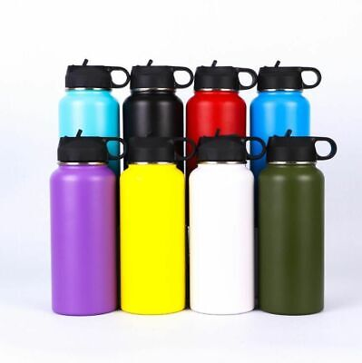 Water Bottle Mouth Flask Hydro Double Walled Vacuum Insulated Stainless Steel