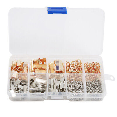 Jewelry Findings Kit Supplies Jump Rings Lobster Clasp For DIY Making Creative
