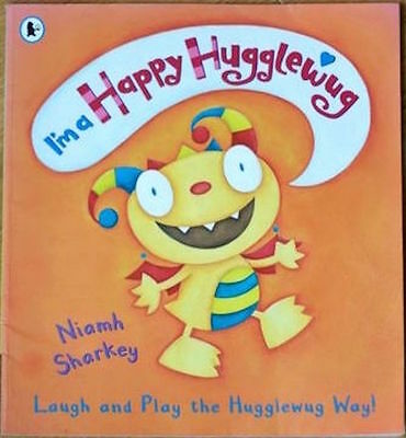 Niamh Sharkey I'M A HAPPY HUGGLEWUG paperback New! Classic Childrens Collectable