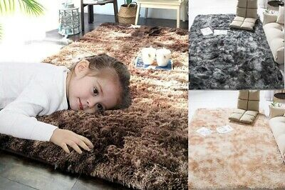 Shaggy Rugs Floor Carpet Living Room Bedroom Area Rugs Soft Large Rug 3-5cm Pile