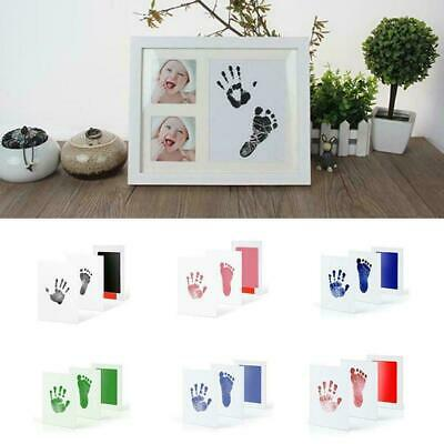 Baby Safe Inkless Footprint Handprint Ink Pad Mess Commemorate Free I6A6