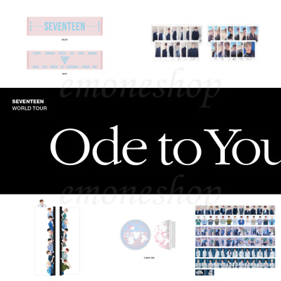 SEVENTEEN 세븐틴 [ ODE TO YOU ] 2019 WORLD TOUR CONCERT OFFICIAL MD + Tracking No.