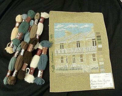 Vintage 1987 limited edition tapestry and yarn Newtown Terrace Kate Sinclair