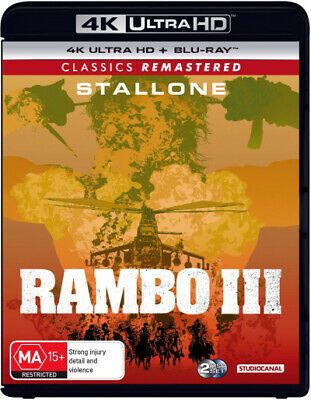Rambo Iii (Classics Remastered) (4K Uhd/Blu-Ray) (1988) [New Bluray]