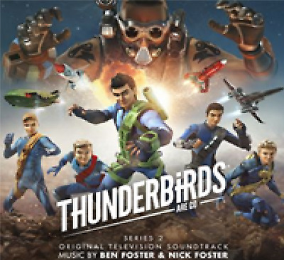 Ben & Nick Foster - Thunderbirds Are Go Series 2 Soundtrack 2 CD NEW (23RD AUG)