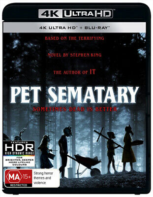 Pet Sematary (2019) (4K Uhd/Blu-Ray) (2019) [New Bluray]