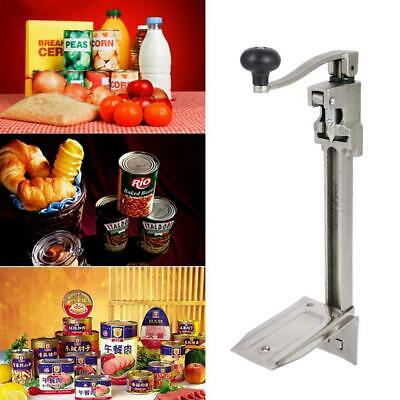 EDC Stainless Steel Commercial Grade Can Opener 64x15cm Heavy Duty Table Mount