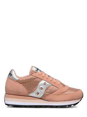 SCARPA DONNA SAUCONY SNEAKERS JAZZ O TRIPLE LIMITED EDITION PINK SILVER 119