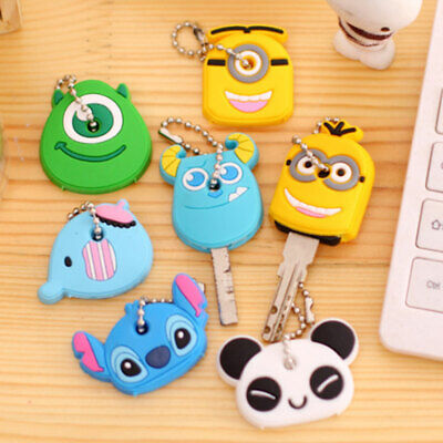 Cartoon Silicone Protective key Case Cover For key Holder Supplies