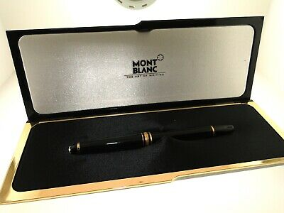 Authentic Montblanc Meisterstuck Classique Gold-Plated Rollerball Pen W/Box