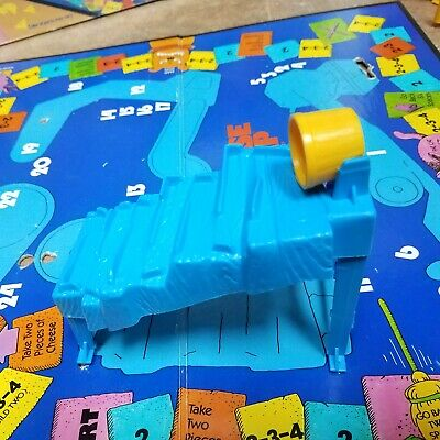 Mouse Trap Board Game Replacement Part Plumbing #13 Blue Rube Goldberg