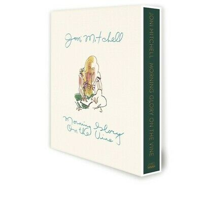Joni Mitchell SIGNED Morning Glory On The Vine Book Presale Limited Edition WOW