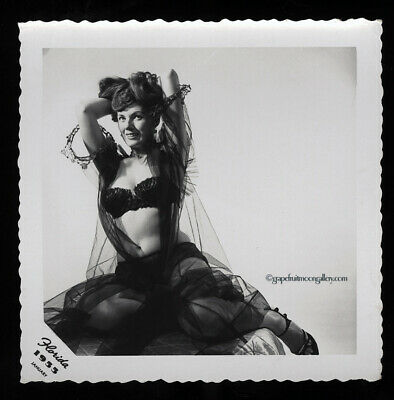 Bunny Yeager 1955 Sultry Pin-up Photograph Self Portrait From Her Estate Rare NR
