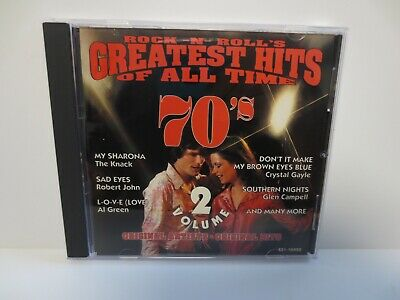 Rock N Roll's Greatest Hits Of All Time 70'S ~ Volume - 2 ~ 1995 ~ Like New ~ Cd