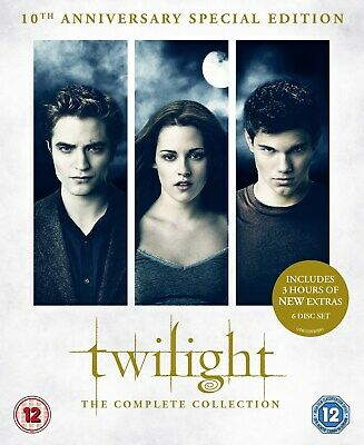 The Twilight Saga: The Complete Collection (Box Set (10th Anniversary Edition)