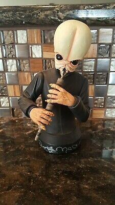 Star Wars Gentle Giant Mini Bust Tedn Dahai Signed Autograph Penny Mcarthy