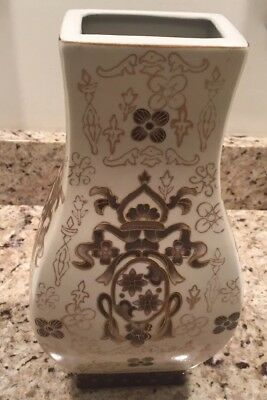 Antique Chinese Vase 12in.Tall A& B Honda Group Inc Beautiful Decorative #60409