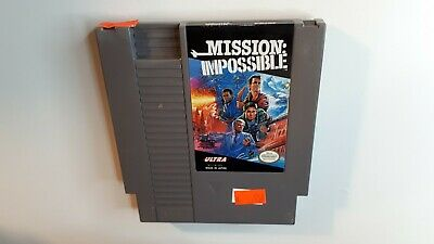 MISSION: IMPOSSIBLE Nintendo NES Game 1990 - FAST AND FREE SHIPPING !!