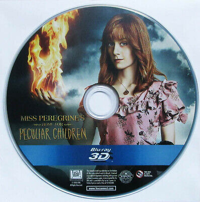 Miss Peregrine's Home For Peculiar Children 3D Blu-Ray Disc Only 2016 Fantasy