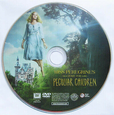 Miss Peregrine's Home For Peculiar Children Dvd Disc Only No Case 2016 Fantasy