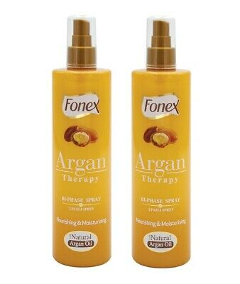 Fonex 2 Phasen Spray Argan Therapy 375ml 2 Stück