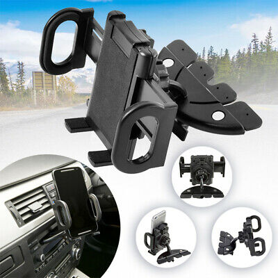 CD Slot Mobile Phone Holder In Car Universal Stand Cradle Mount GPS for iPhone Z