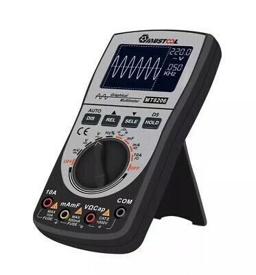 MUSTOOL MT8206 2 in 1 LCD HD Digital Handheld Oscilloscope Multimeter Tester