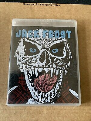 JACK FROST BLU-RAY/DVD NEW Limited Lenticular SLIPCOVER
