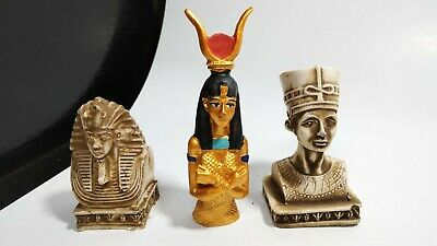 Queen Nefertiti and King Ramses and God love rare Egyptian decors